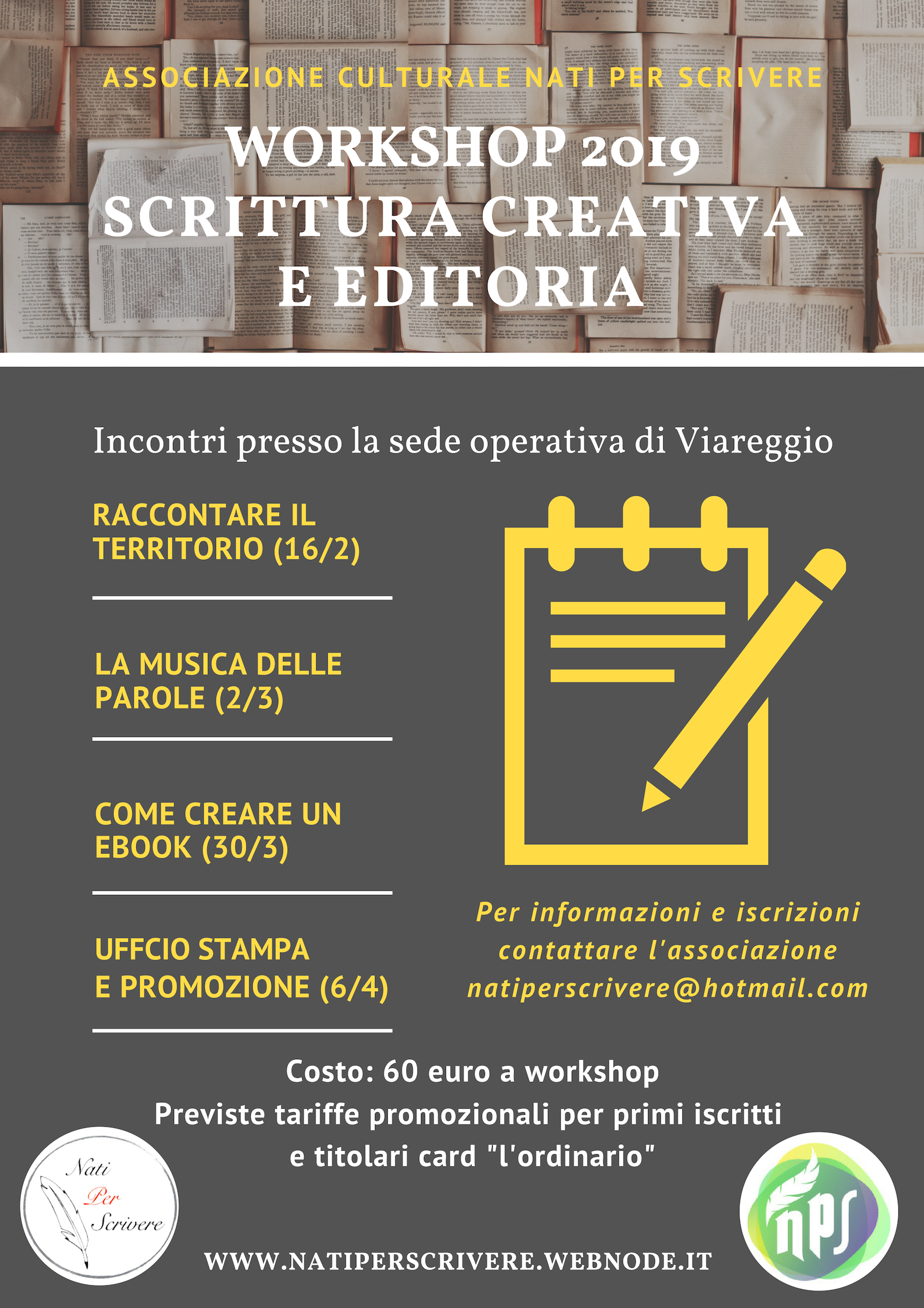 Workshop 2019 @ Sede operativa NPS, Viareggio