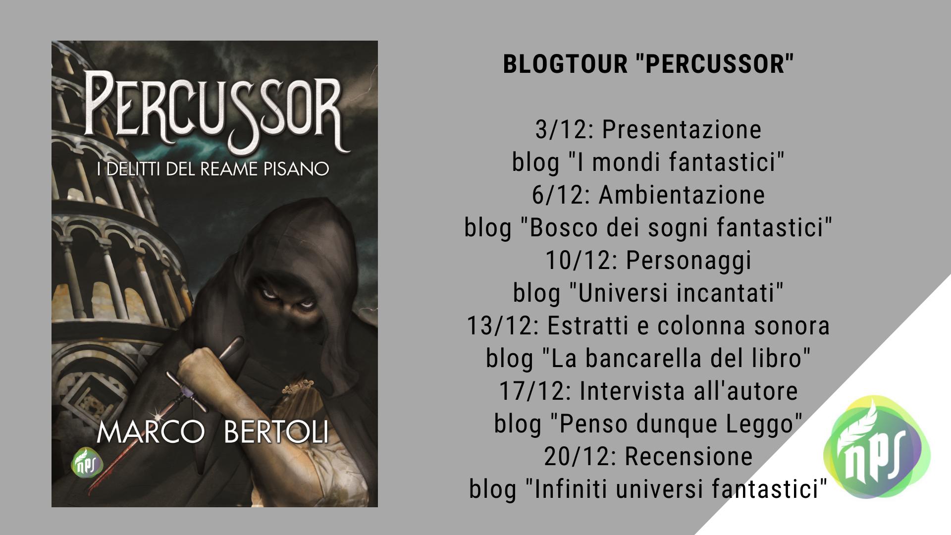 Blogtour Percussor